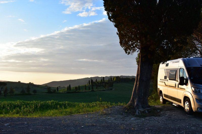 Voyage en toscane en van