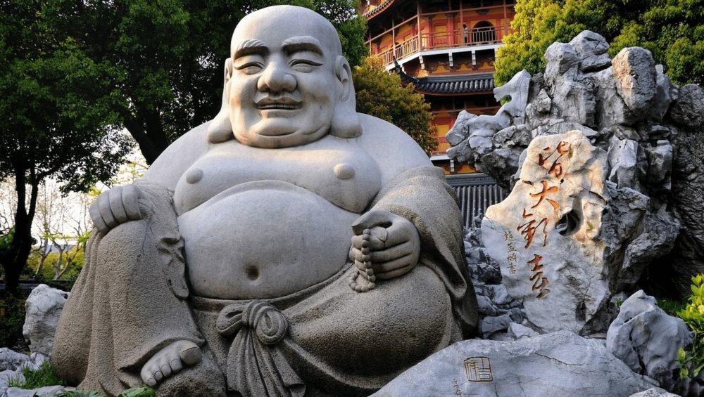 bouddha en chine