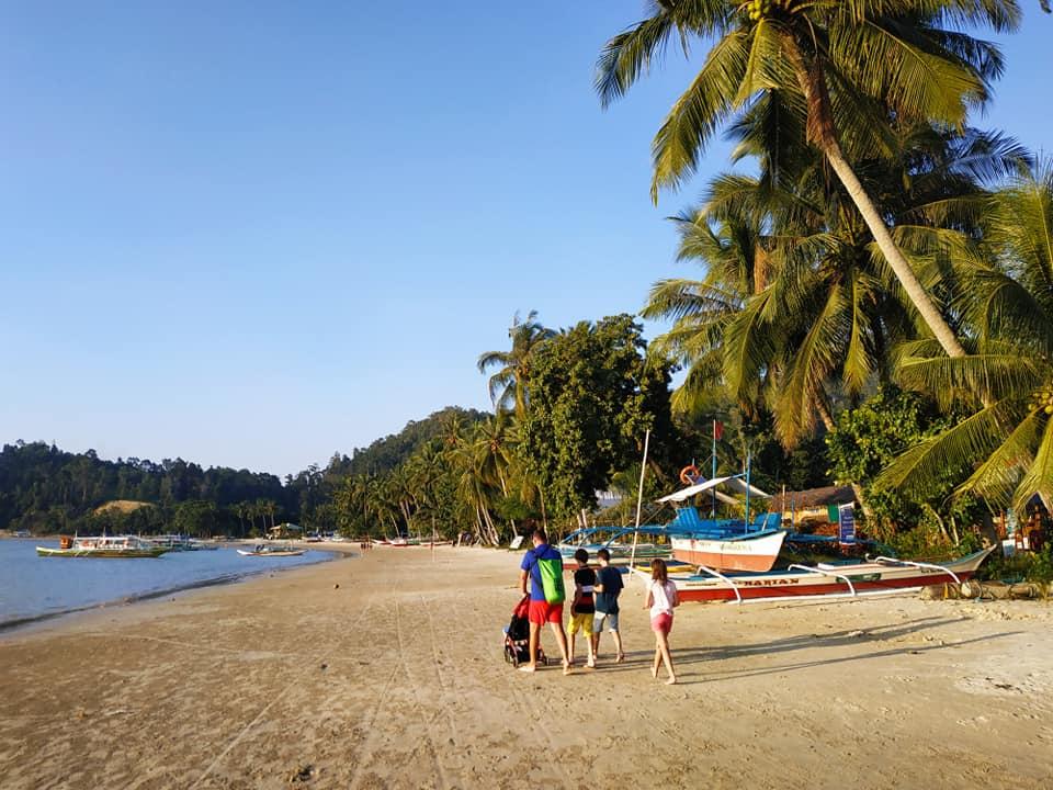 plage aux philippines