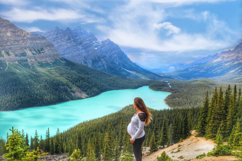 femme enceinte au canada