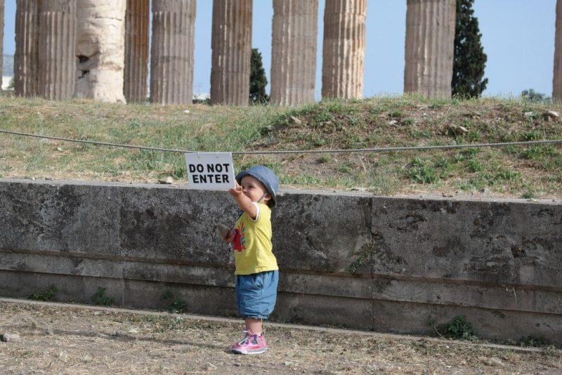 voyager en grece en famille avec un bebe athenes