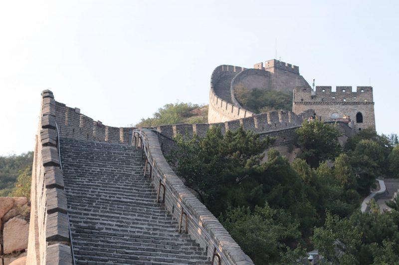 famille à la muraille de chine