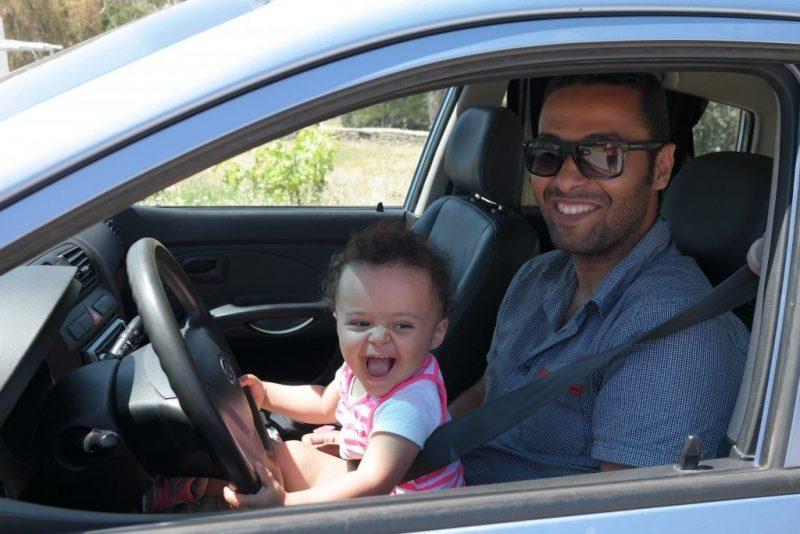 transport cyclades avec un bebe location voiture