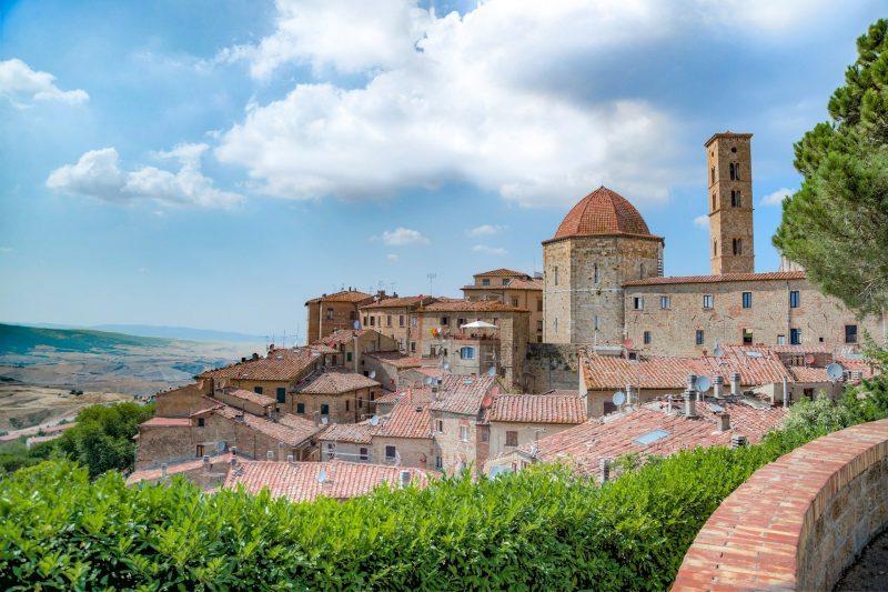 Volterra en Italie en toscane