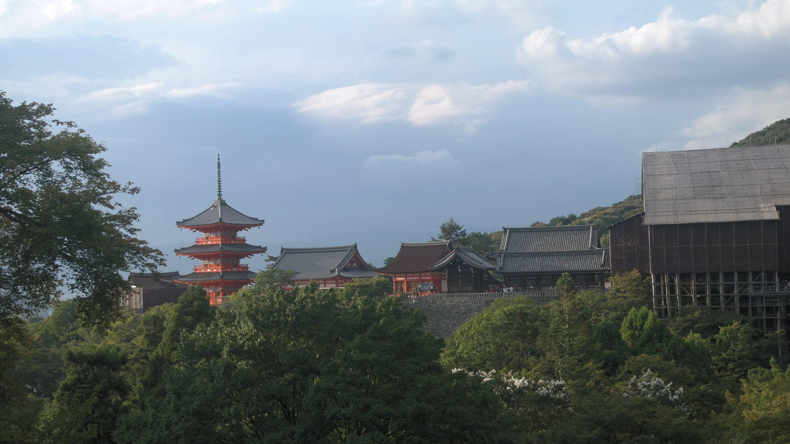 temple kiumizu dera kyoto