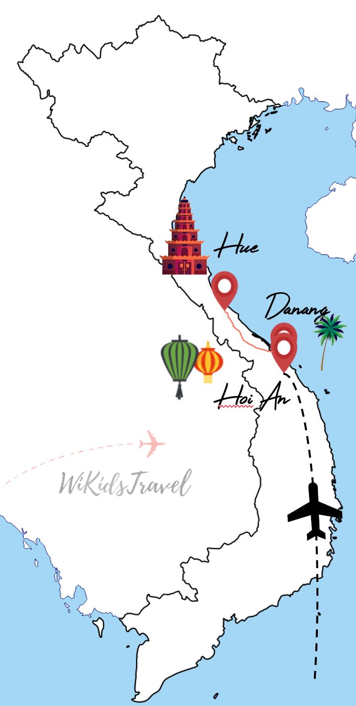 Itinéraire 15 jours centre Vietnam