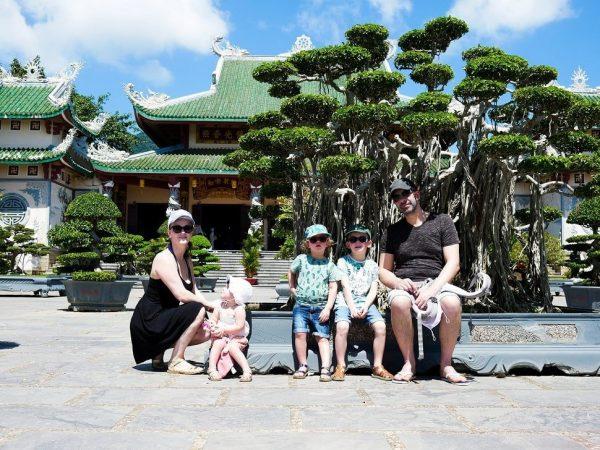 famille au vietnam 3 enfants