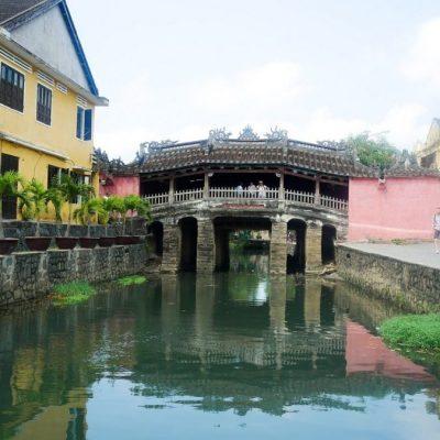 Pont japonaise à Hoi An au Vietnam