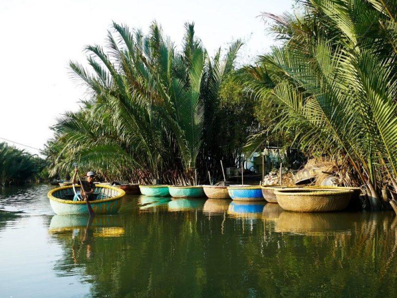 coconut river hoi an vietnam
