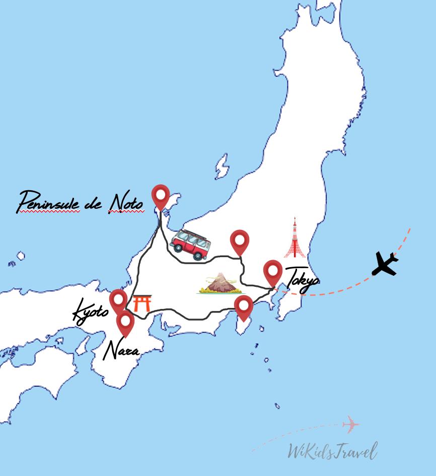 3 semaines de road trip en camper van au japon