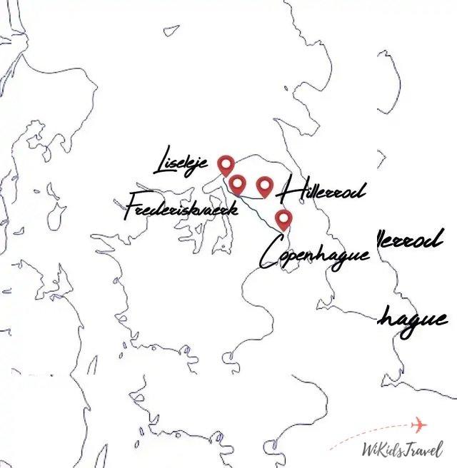 Itineraire Danemark famille