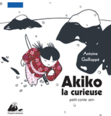 livre Akiko la curieuse