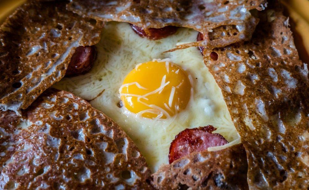 galette bretonne oeuf