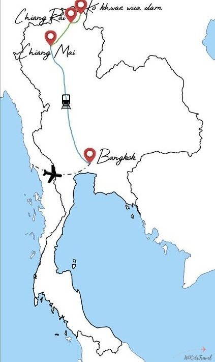 itinéraire en thailande 1 mois avec 2 enfants