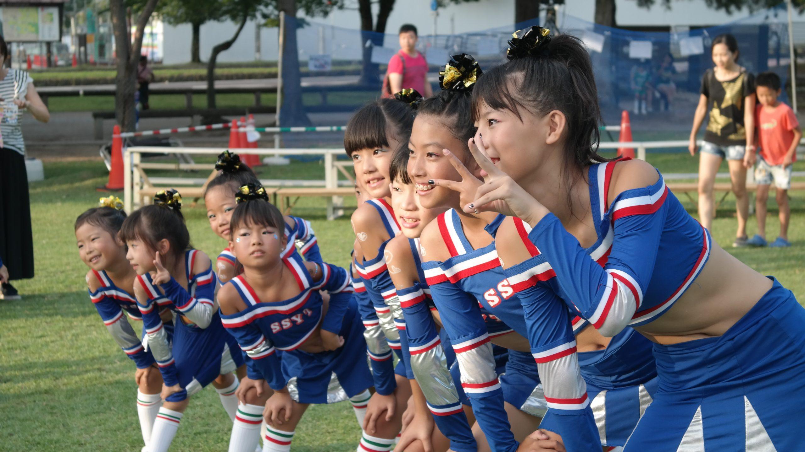 cheerleaders japon