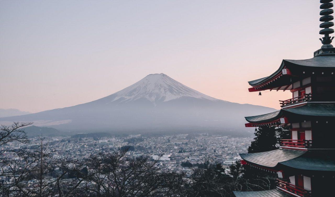 mont fuji depuis tokyo