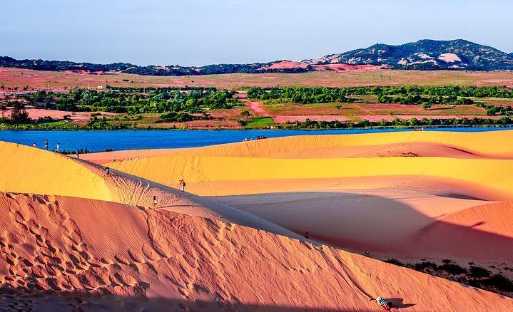 dune de mui ne au vietnam