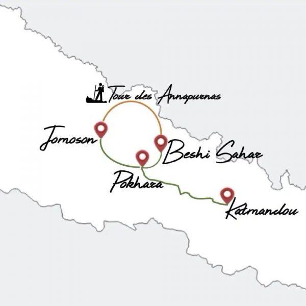 Itinéraire trek au Népal voyage en famille
