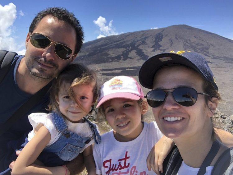 famille en voyage sur l'ile de la réunion