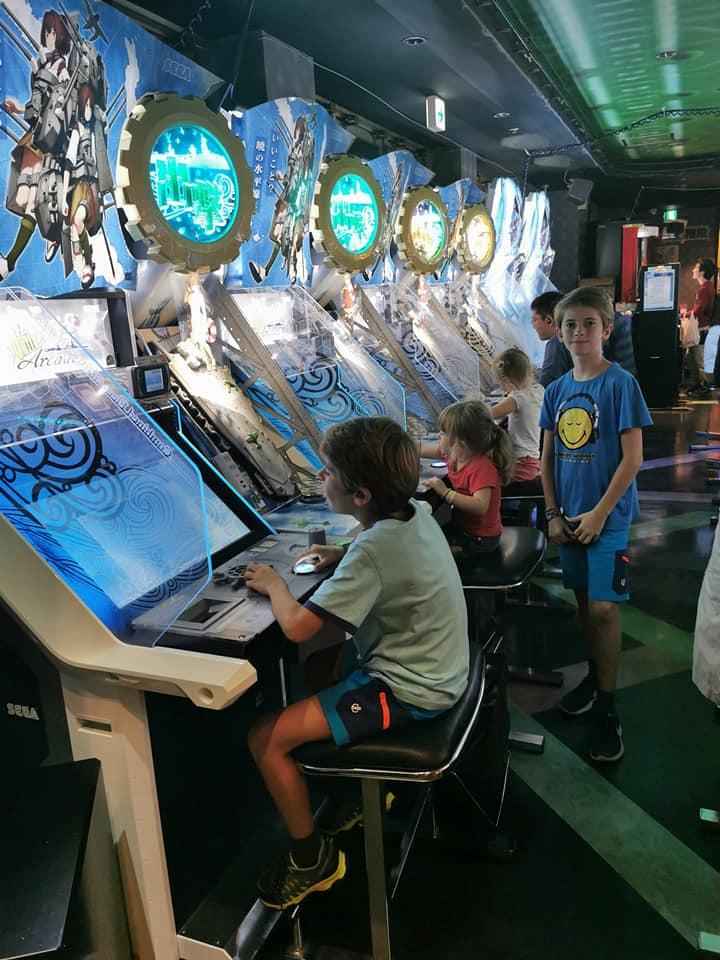 salla arcade japon