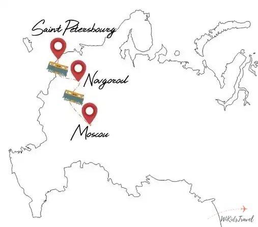 itinéraire Russie famille voyage