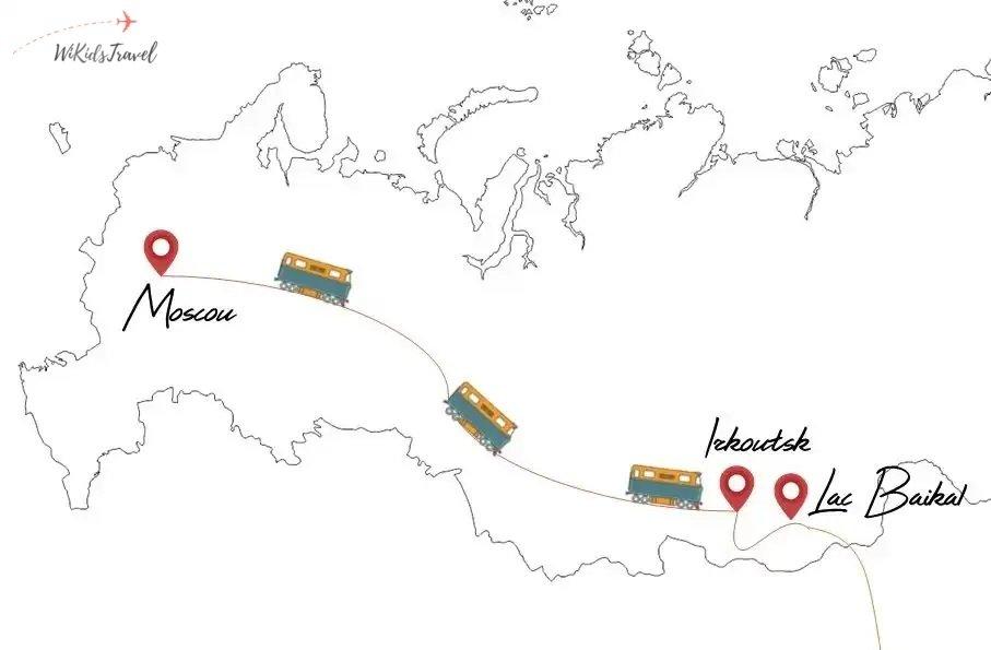 itinéraire transsibérien Russie famille
