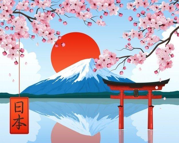 illustration japon