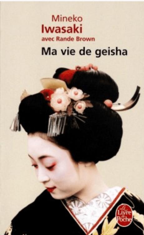 Livre ma vie de geisha