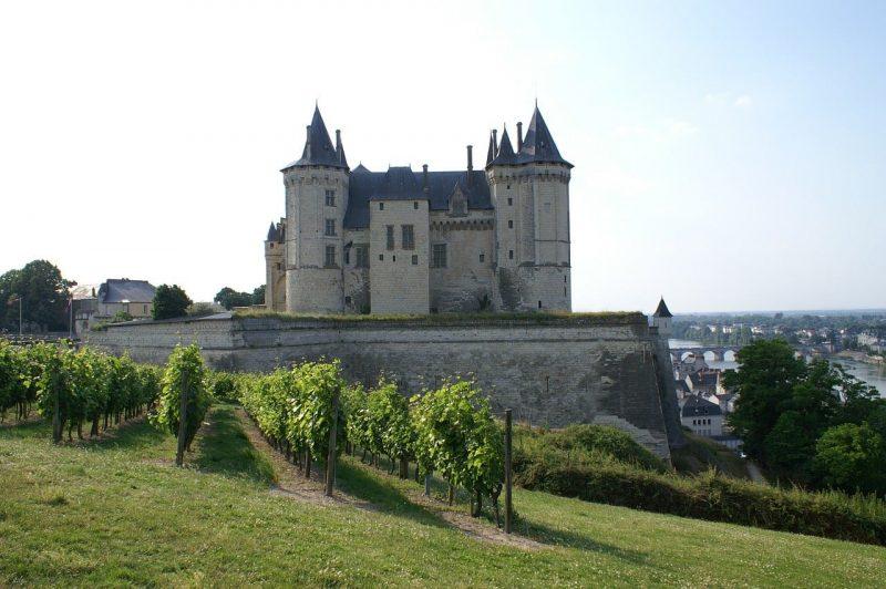 Chateau de saumur en famille