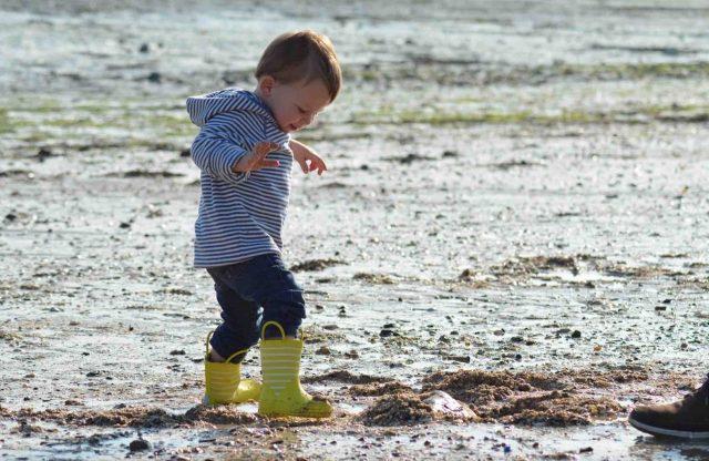 Enfant en normandie voyage en famille