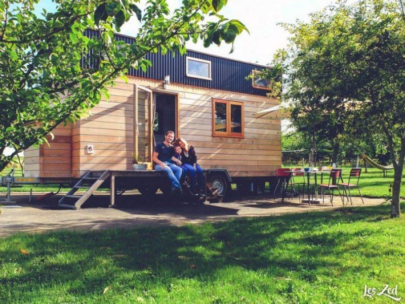dormir en tiny house en normandie voyage en famille