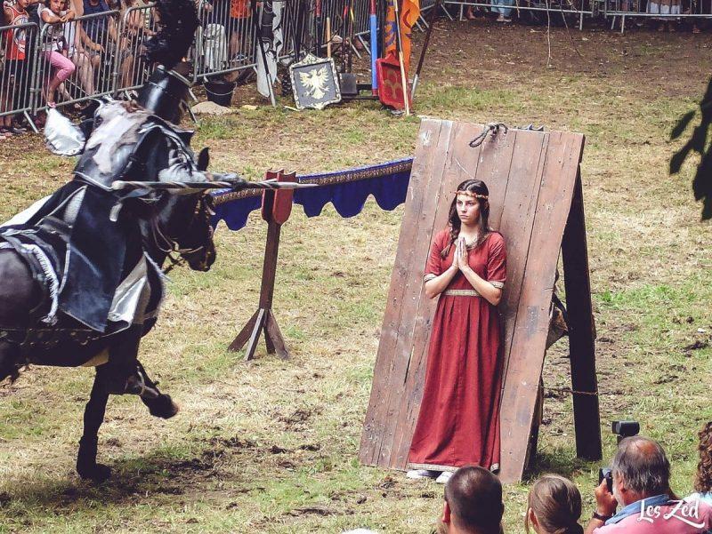fête médiéval à breteuil en normandie voyage en famille
