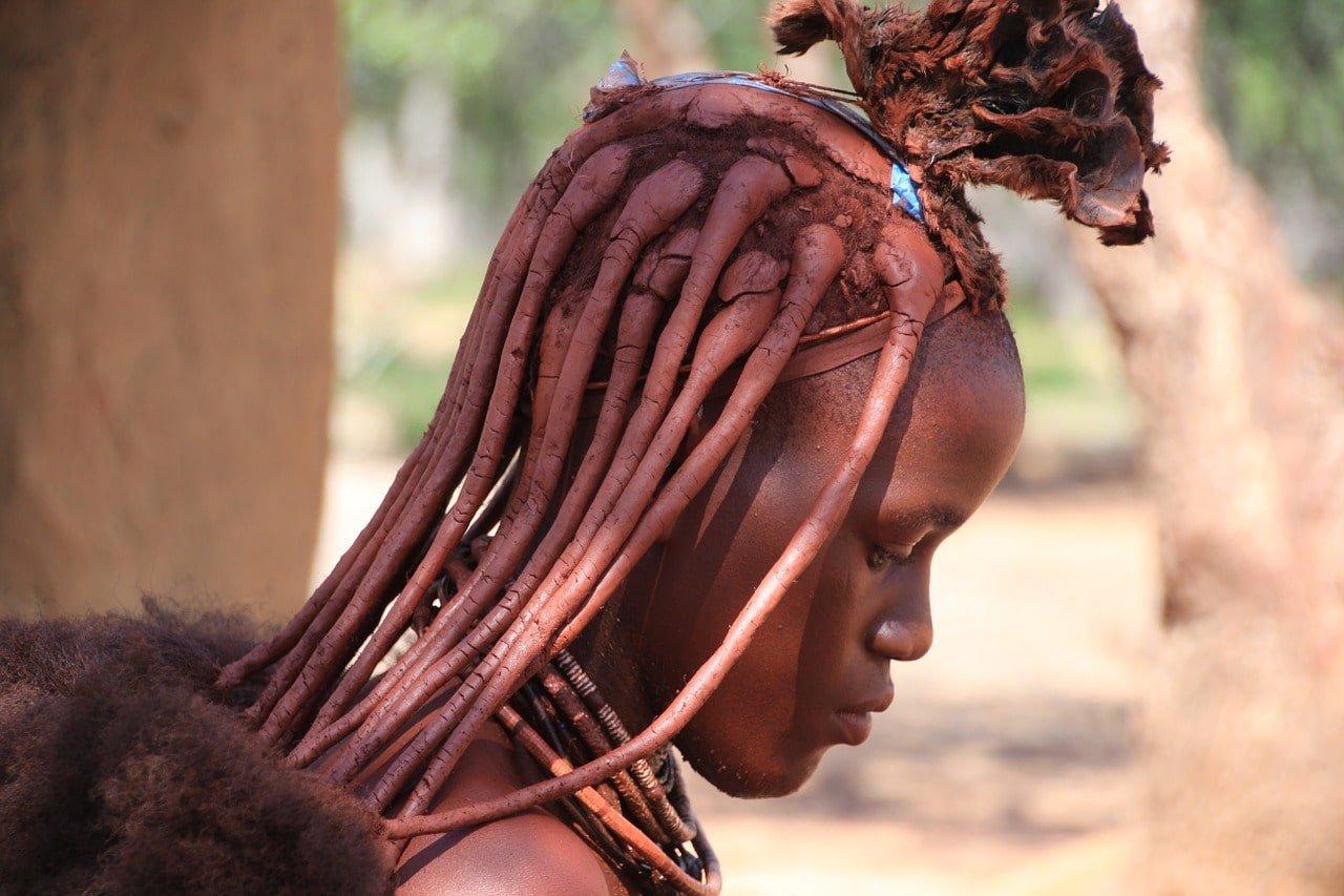 jeune fille en namibie
