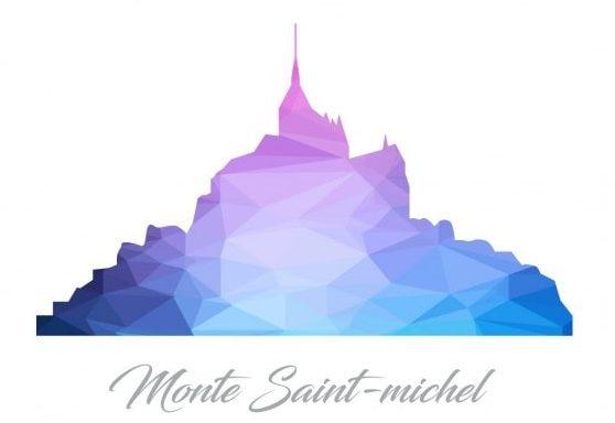 Illustration Mont Saint Michel normandie