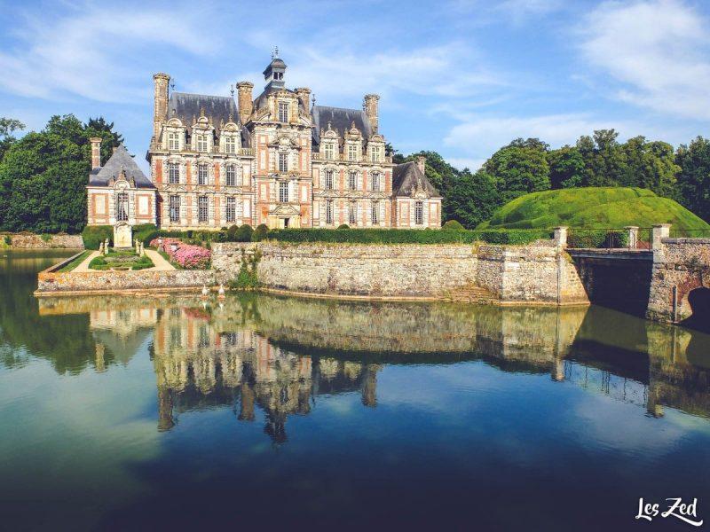 Chateau de beaumesnil en normandie voyage en famille
