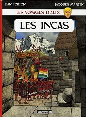 Livre BD Les incas