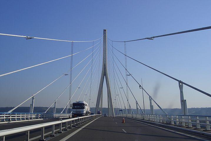 pont de normandie voyage en famille
