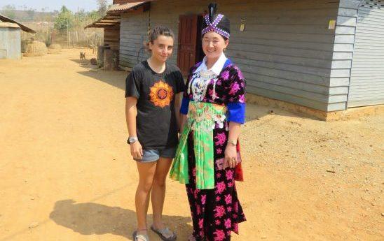 rencontre avec une habitant du laos