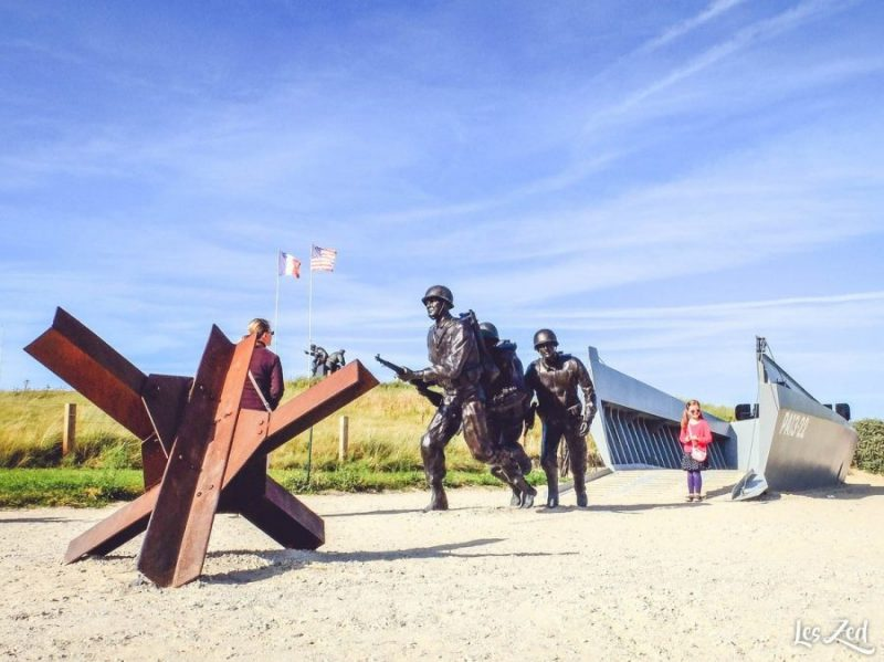 musée du débarquement en normandie voyage en famille