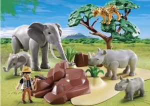 playmobile animaux savane