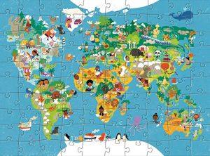 puzzle voyage monde