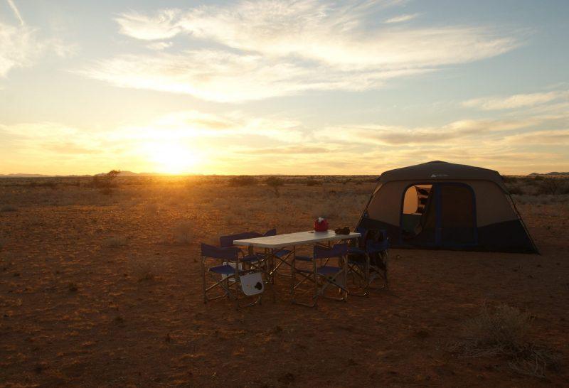 couché de soleil namibie
