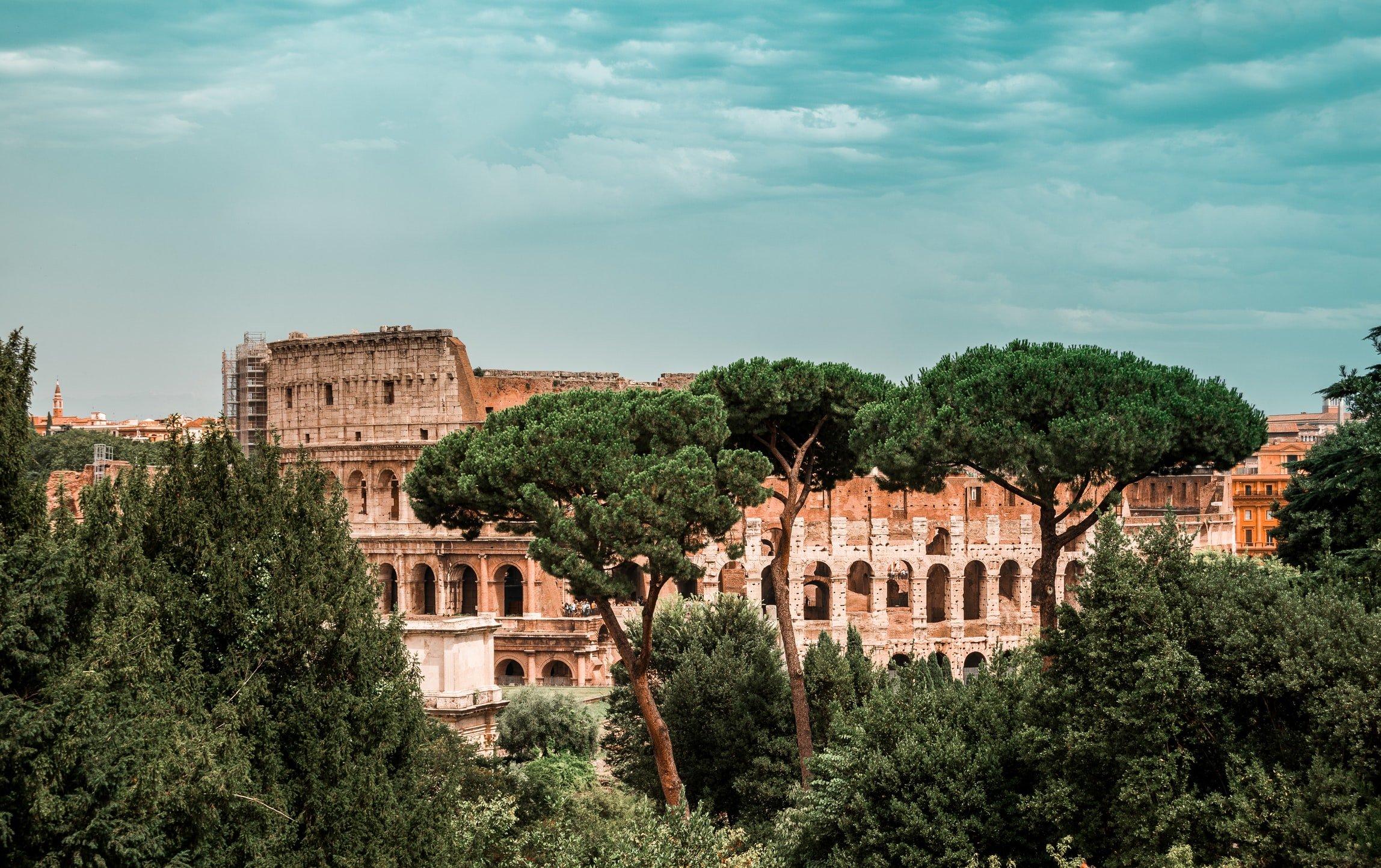 colisée à rome en italie voyage en famille