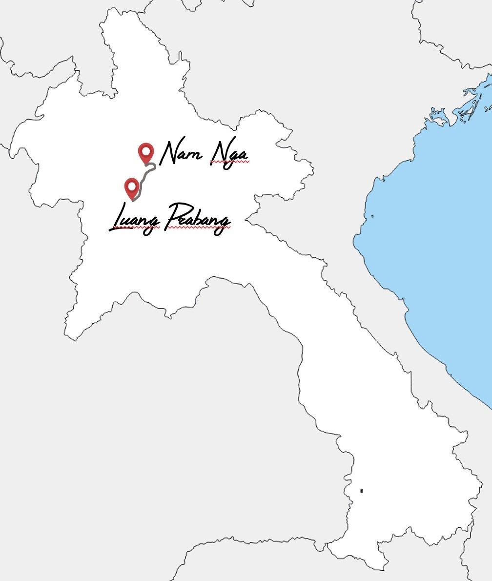14 jours slow travel au laos en famille