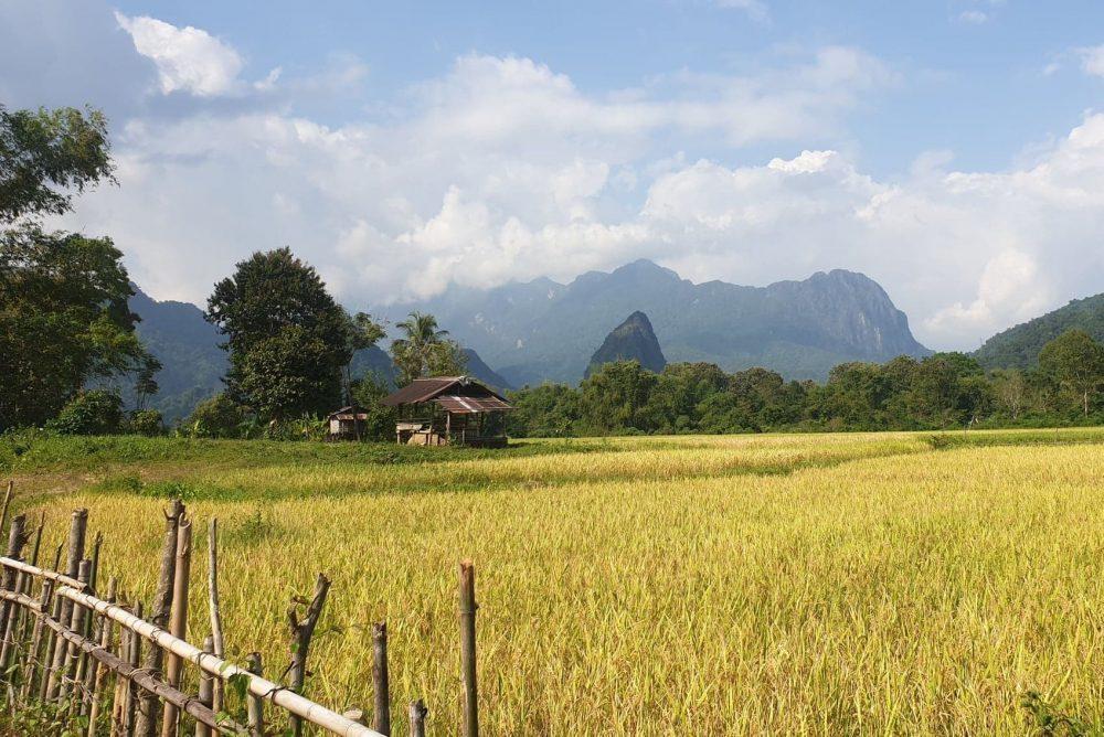 paysage de vang vieng au laos voyage en famille