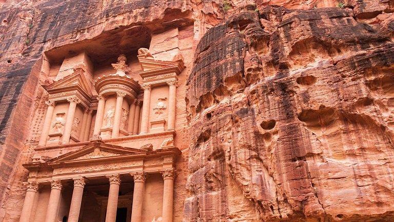cité de Petra jordanie voyage en famille