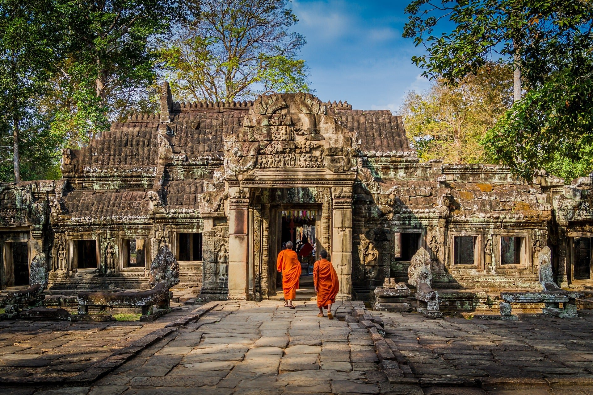 angkor cambodge temple voyage famille