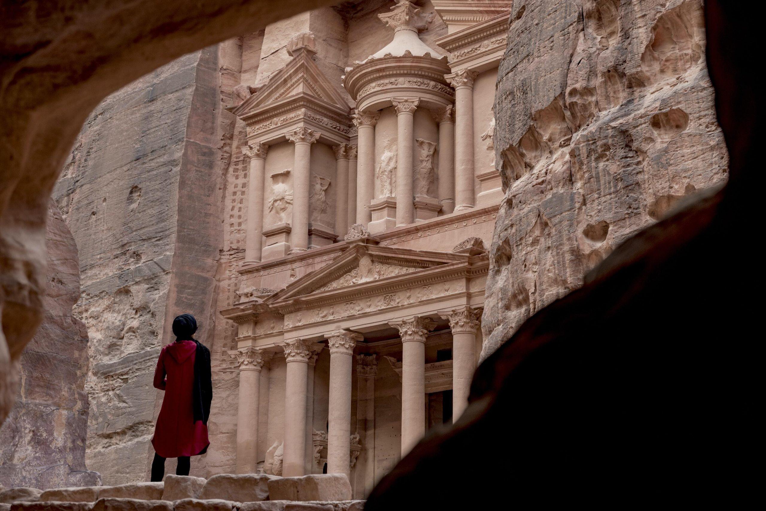 cité pétra jordanie voyage en famille