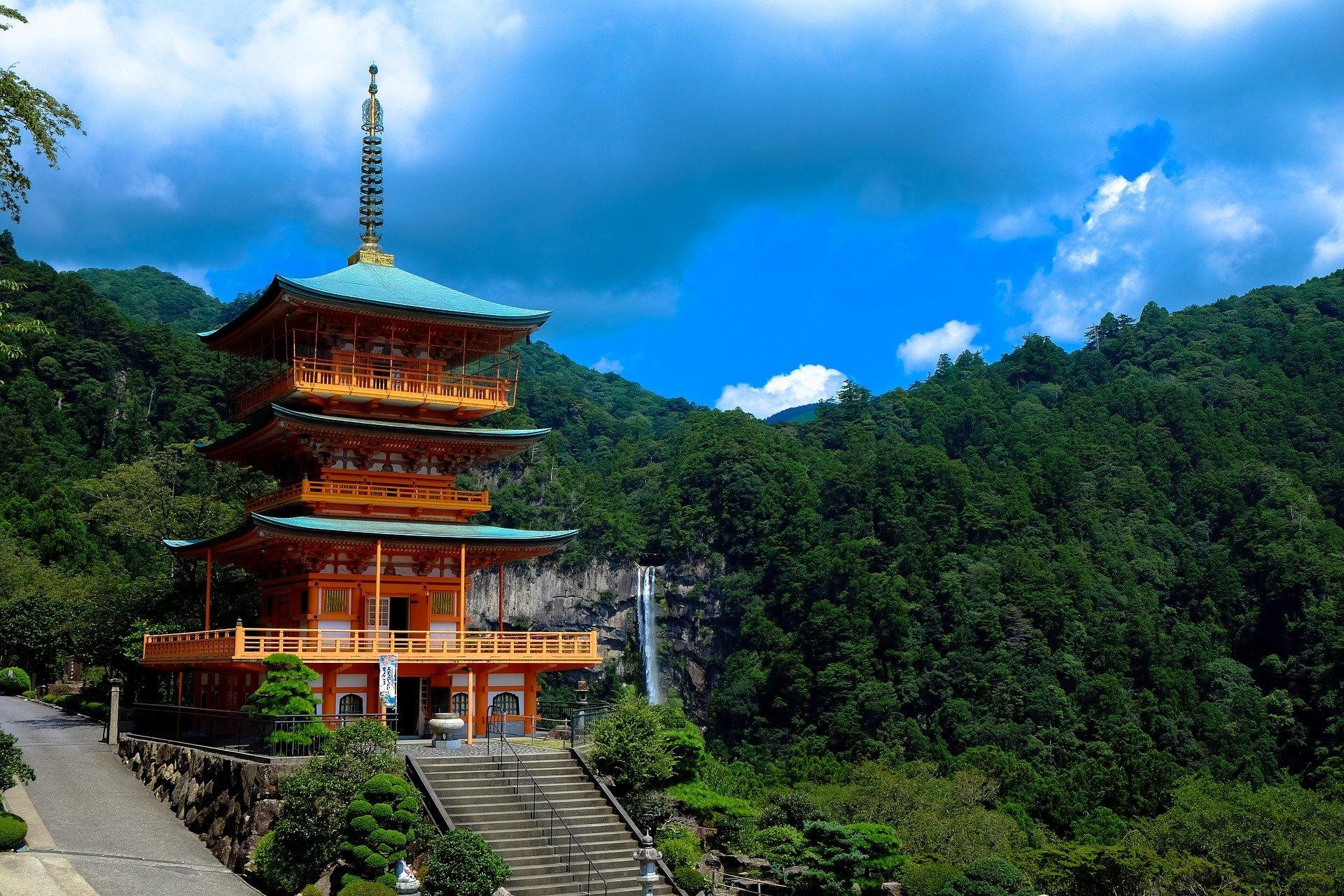 temple au japon voyage en famille