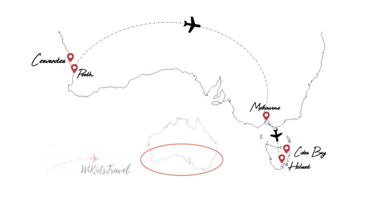 itinéraire 1 mois en australie